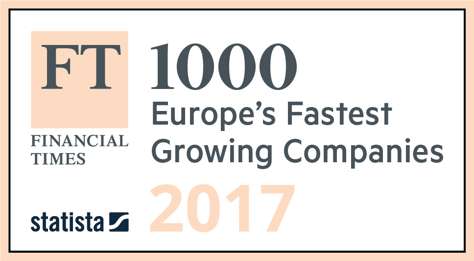 Financial Times Europe's fastest growing companies 2017